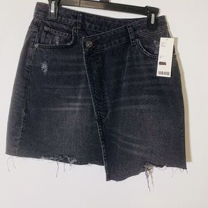 BDG for Urban Outfitters Black Medium Wash Skirt M